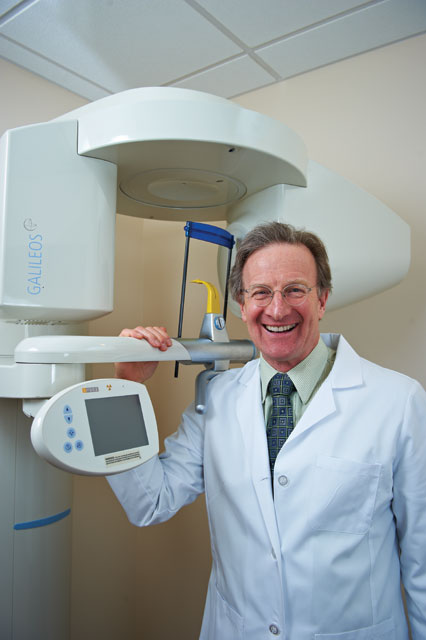 Dr. Stuart Ross from City Smiles DC smiling in dental office