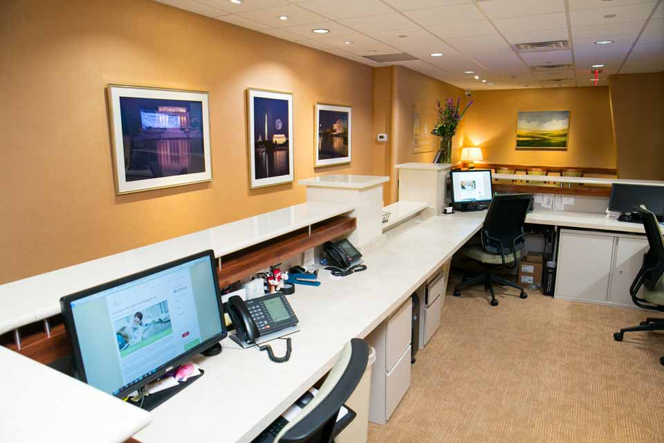 Front Desk at City Smiles DC